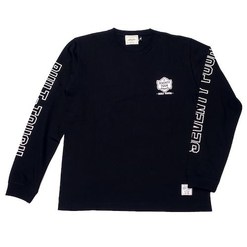 SEVENTY FOUR(セブンティーフォー) / T SHIRT L/S(BUILT TOUGH)(BLACK)(STF21FW10)(ロングスリーブTシャツ)
