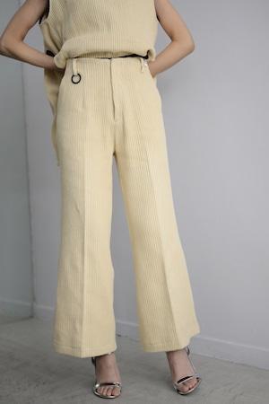 YOHEI OHNO / Semi Wide Trousers(Russel)
