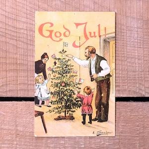 クリスマスカード「Einar Torsslow(エイナル・トシュロフ)」《200321-04》