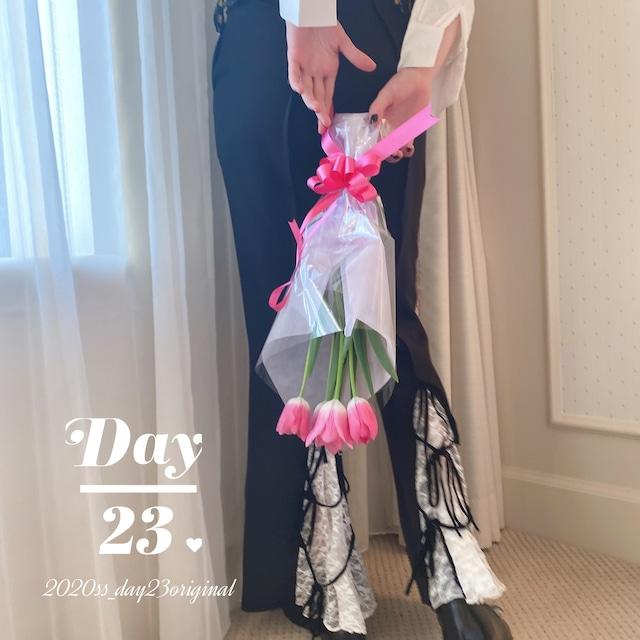 【original】lace up pants(S)