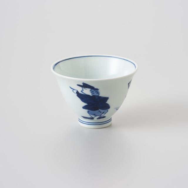 """【青花】""""クラシック異人"""" 百合型仙茶(紅毛人)"""