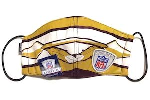 【デザイナーズマスク 吸水速乾COOLMAX使用 日本製】NFL SPORTS MASK CTMR 0225031