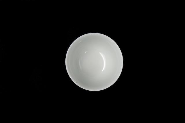 ◆受注生産◆白磁プラチナ七宝湯呑 高島慎一作