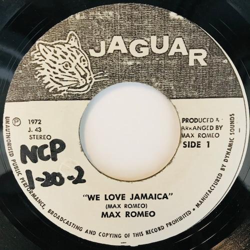 Max Romeo - We Love Jamaica【7-11043】