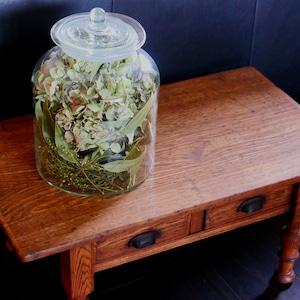 【30545】ガラスの大瓶 / 昭和/  Glass Jar /Meiji