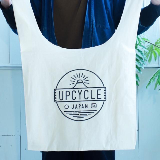 大きなマルシェバッグ / UPCYCLE JAPAN オリジナル