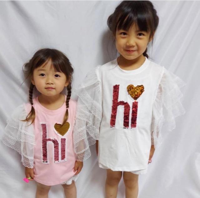 商品番号1168 hiキラキラTシャツ