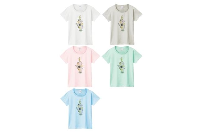 トランペット猫のTシャツ