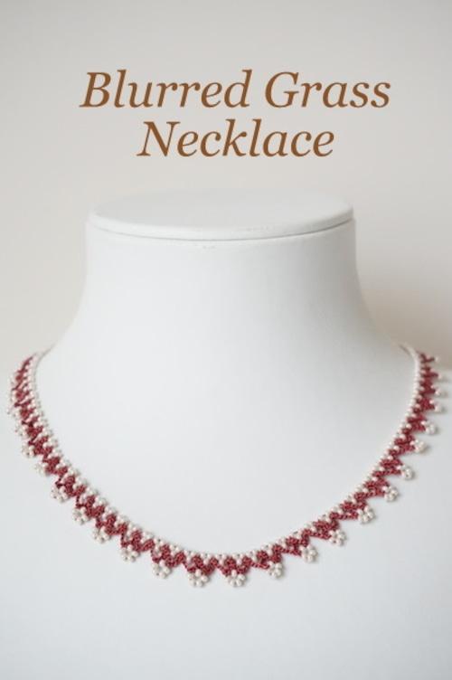 ボンジュクオヤのネックレス かすみ草B(カラーは商品内ページよりお選びください。)