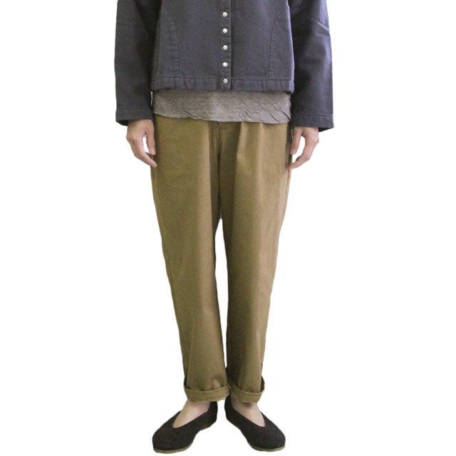YARRA  ヤラ YR-85-082 裏起毛プレミアムフィットパンツ  暖かみのあるパンツ