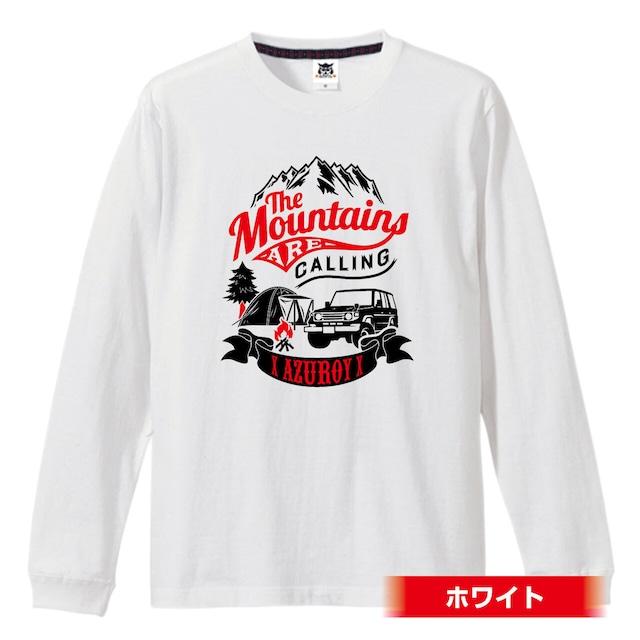CAMP BASE ロングスリーブTシャツ【デザインを自分好みにカスタマイズできるTシャツ!】