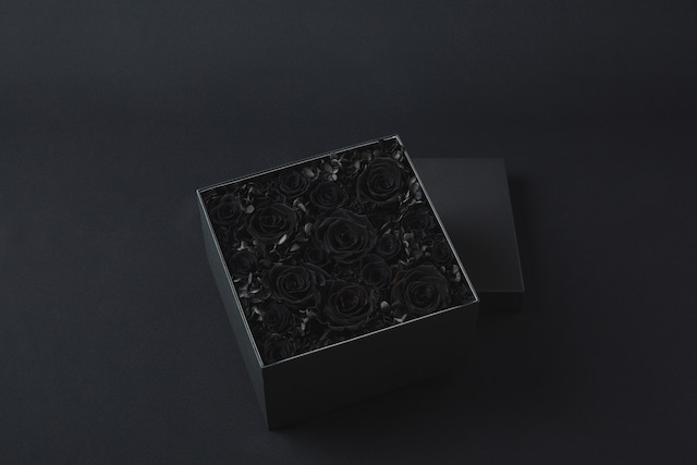 Preserved Flower Box Special Ver. L(トロピカル/ブラック)