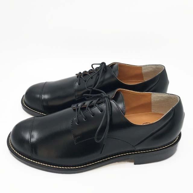 steer blucher shoes/BLK,DBR/l.o.b/l.o.b19-1L1T04【受注生産】