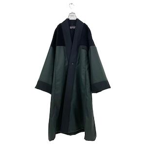 Haori (black/deep green)