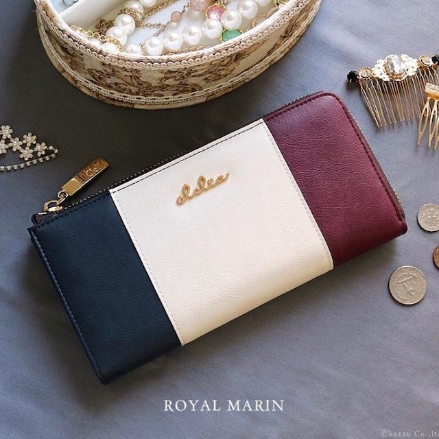 ストライプ長財布(ときめき国旗柄)