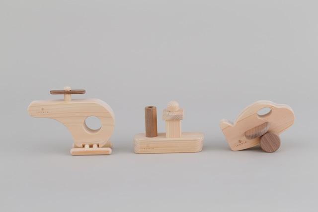 乗り物シリーズ  TRANSPORTATION SERIES | 木のおもちゃ 出産祝い 乗り物のおもちゃ