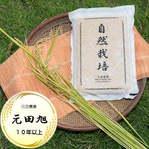 元田旭10年以上 2021年産 玄米5㎏脱気パック