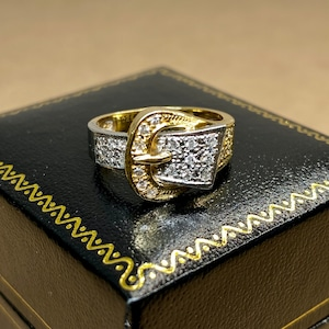 buckle ring made in japan 日本の技と美が詰まったヴィンテージバックルリング