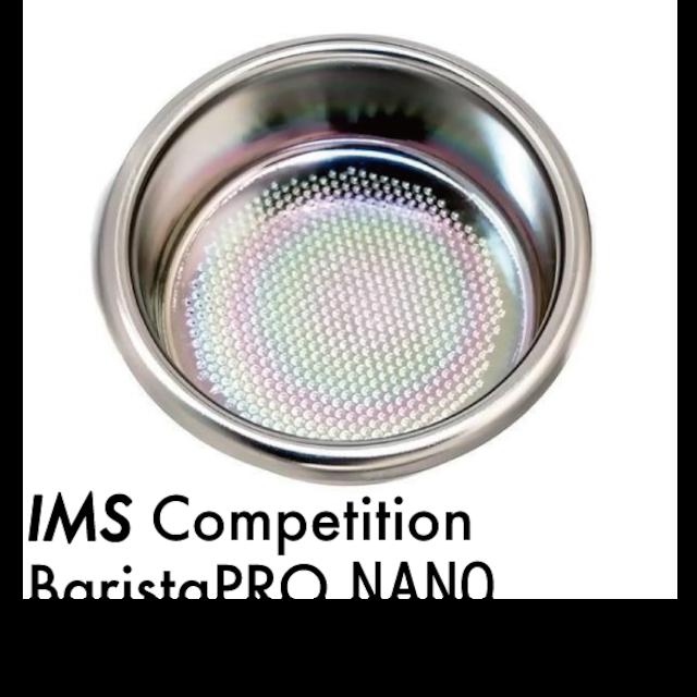 フィルターバスケット●IMS ナノテクコート BaristaPro NANO 661孔 B70 Nano Quartz ナノクォーツ