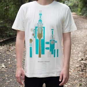 燃えない化石 Tシャツ