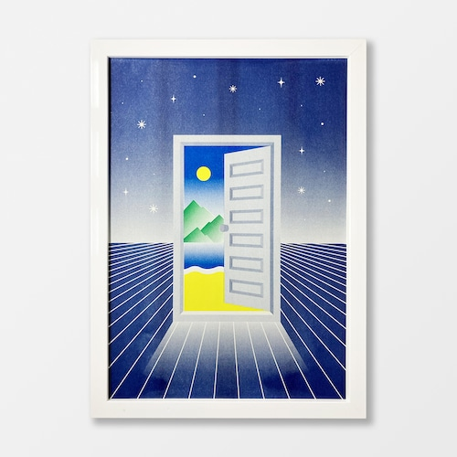 To The Another World A3 Risograph Print