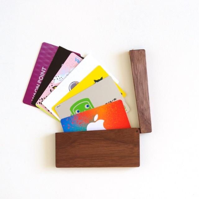 磁石式名刺ケース(カードケース/4樹種)