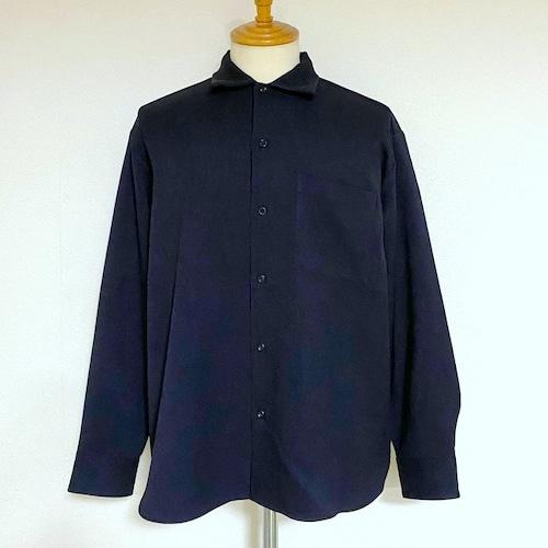 LANATEC®LEI Regular Collar Shirts Navy