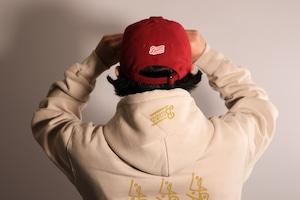 "OL""D""-B- WOOL VISCOSE CAP [RED]"