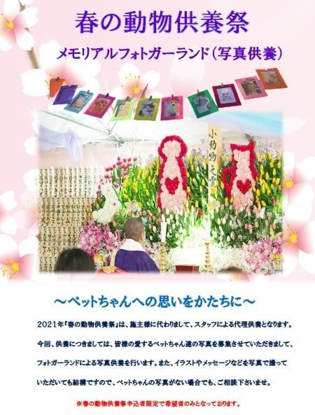 春の動物供養祭