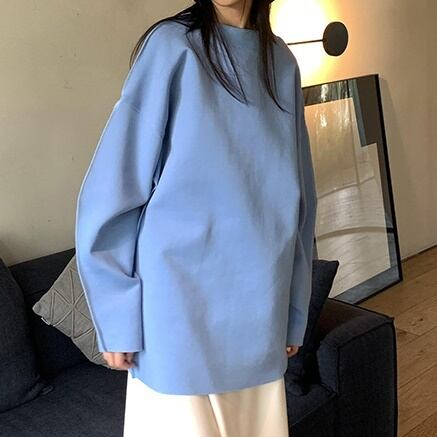 Loose blue cut&saw(ルーズブルーカットソー)b-439