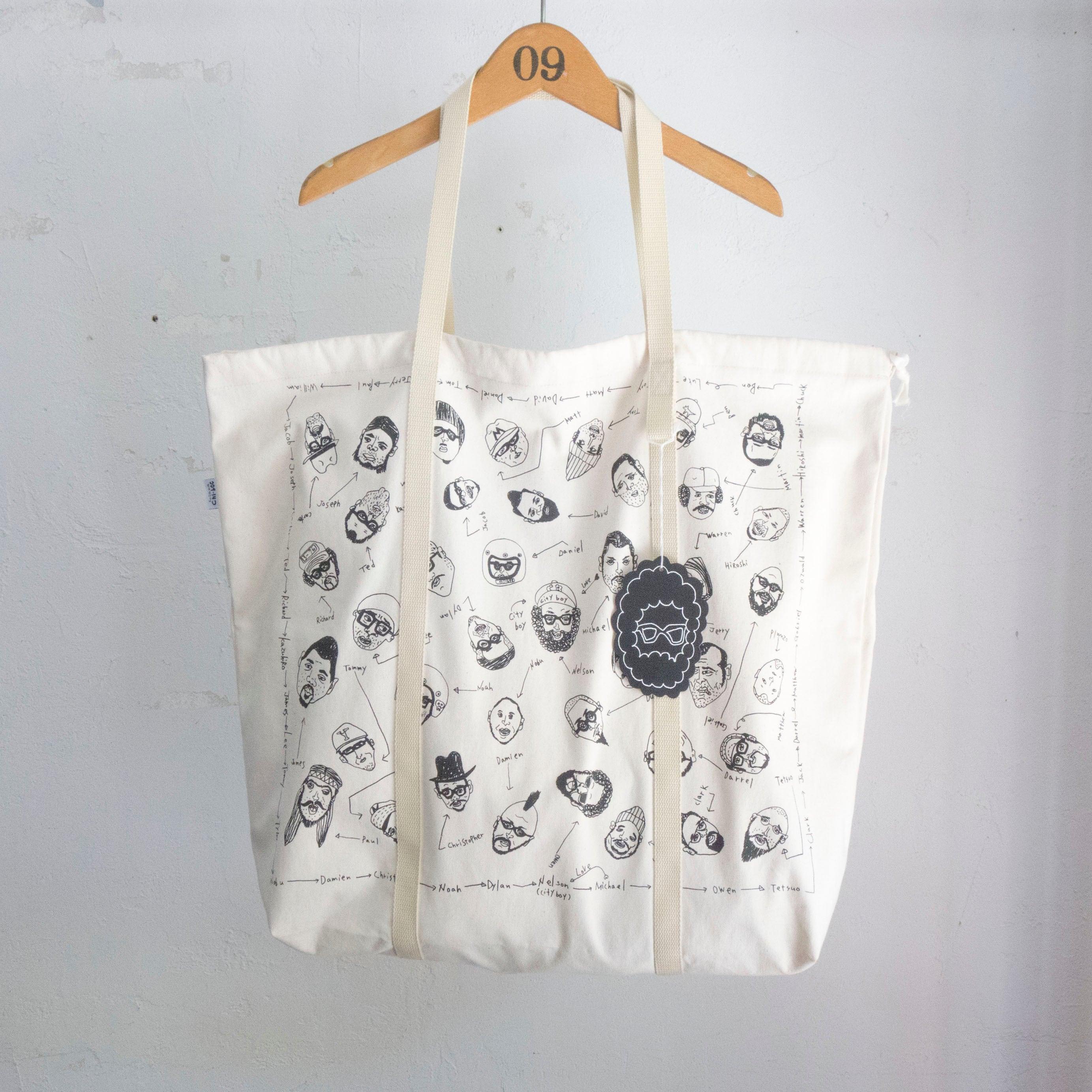 Chi-bee Nelson Friendship Softote Bag NAT 再入荷!!