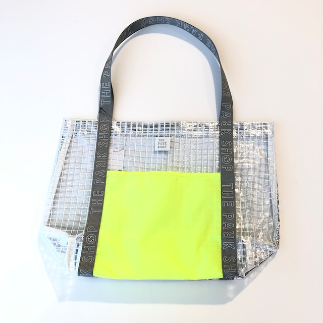 【21SS】THE PARK SHOP(ザ・パークショップ)SEABOY TOTEBAG( FREE )silver トートバッグ プール