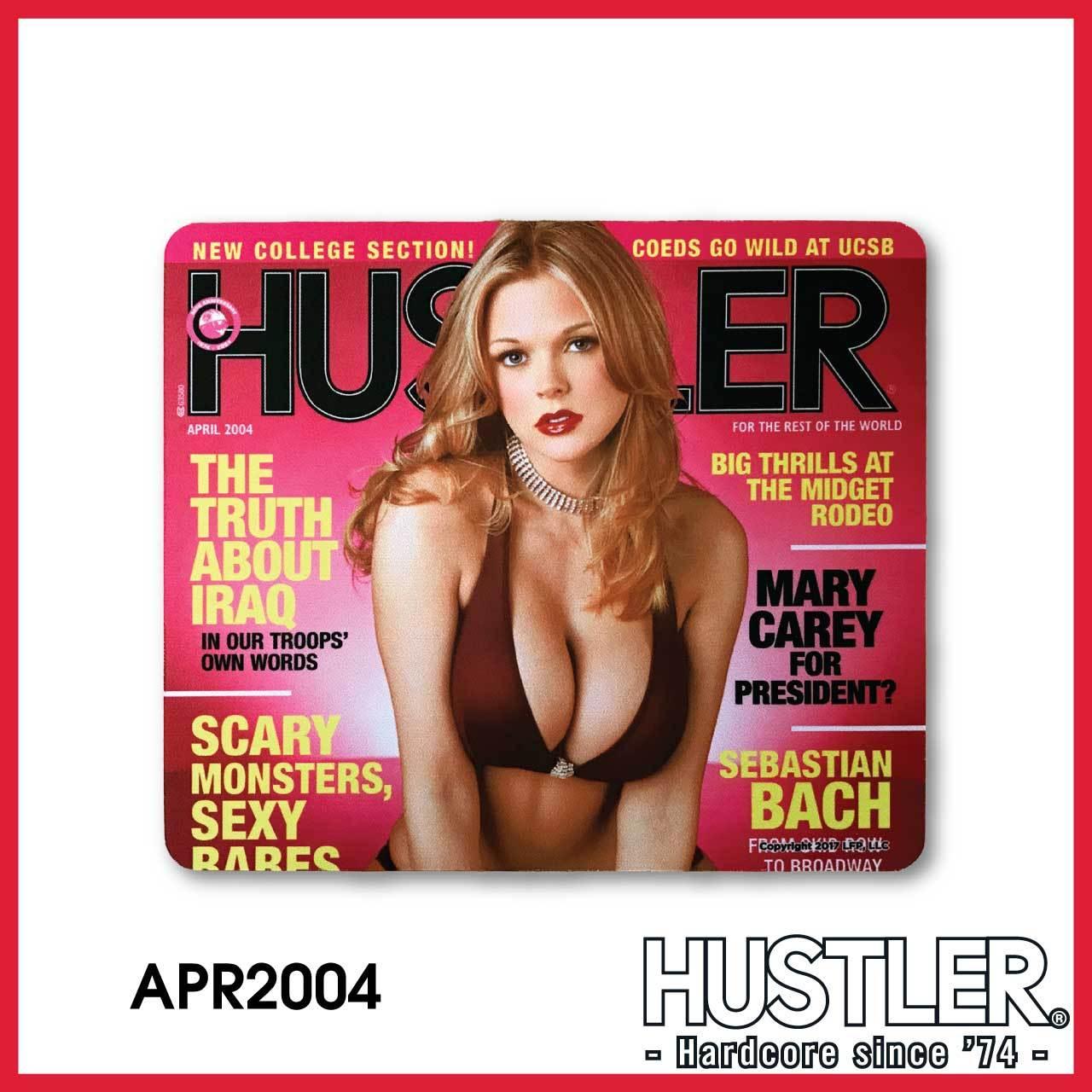 HUSTLER MOUSE PAD(ハスラー・マウスパッド) / APRIL 2004 カバー