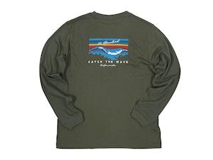 【Catch the wave long sleeve】/ khaki