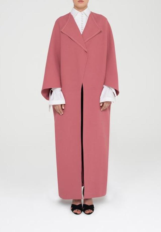 Shape Double Wool Coat