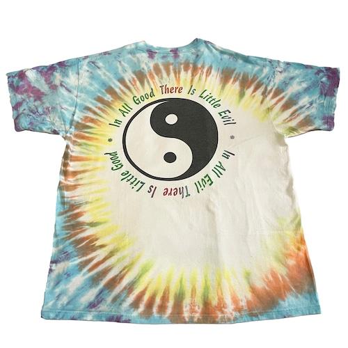 90年代 陰陽 タイダイTシャツ