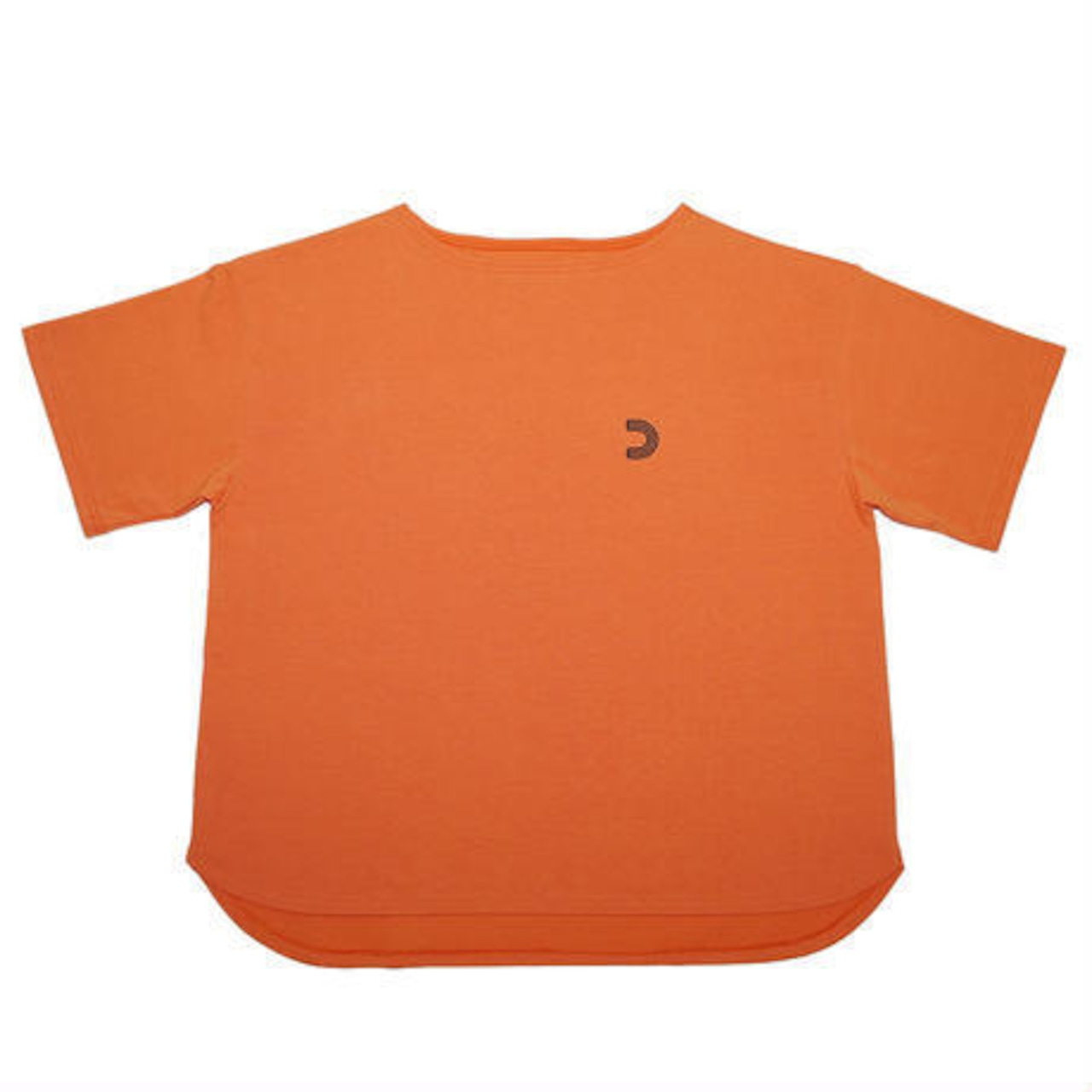 ボートネックビッグTシャツ