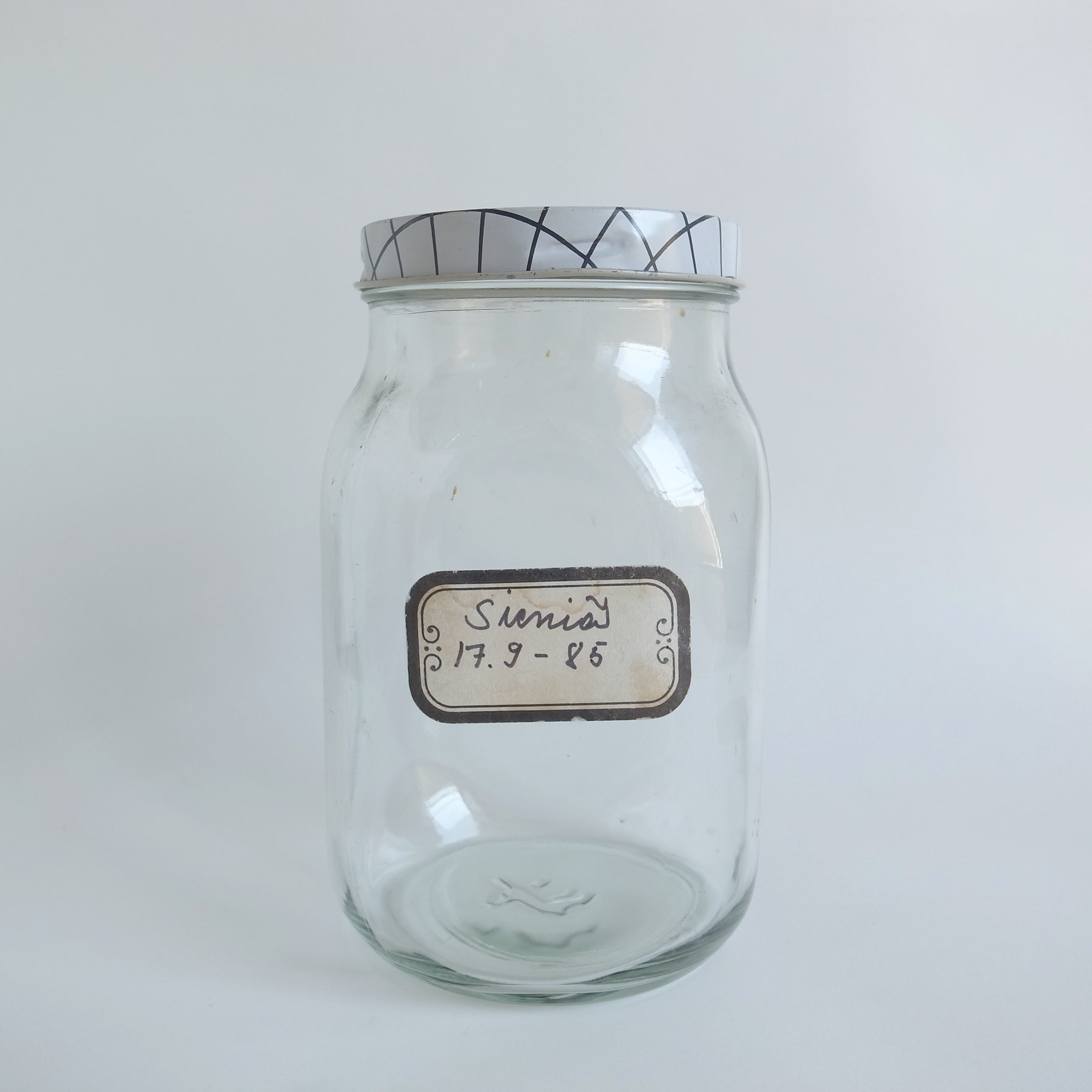 Riihimäki / リーヒマキ riihimäen lasi ガラスジャー
