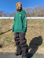 10オンス  クルーネック 袖qri |L-XL-size