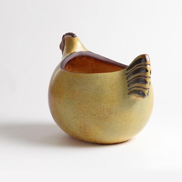 Keramik Studion Gustavsberg セラミックスタジオ・グスタフスベリ リサ ラーソン にわとりのエッグボウル(蓋なし) 北欧ヴィンテージ