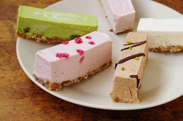 ★通販ショップ移転★【全種】冷たいヴィーガンローケーキ(5本セット)《卵・バター・乳・小麦・白砂糖不使用 冷凍》