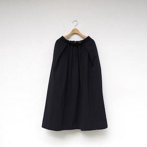 Pale Jute maxi skirt black