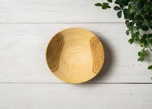 クヌギ材 サラダボウル S 1(グリーンウッドターニング・木の器・生木の器)/Canaria Wood Works