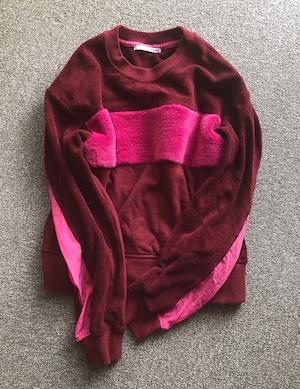 pullover with boa /COINONIA【PK】
