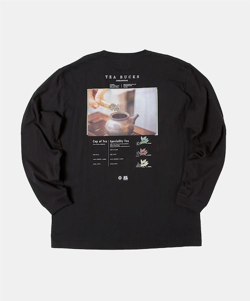 BITE CLUB×TEA BUCKS コラボTシャツ BLACK