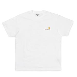 Carhartt (カーハート) S/S AMERICAN SCRIPT T-SHIRT - White
