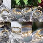 (昭和の懐かしい真珠の指輪)Japanese Traditional ring