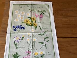 ULSTER WEAVERS TEA TOWEL Irish Wild Flowers アイルランドのティータオル ワイルドフラワー