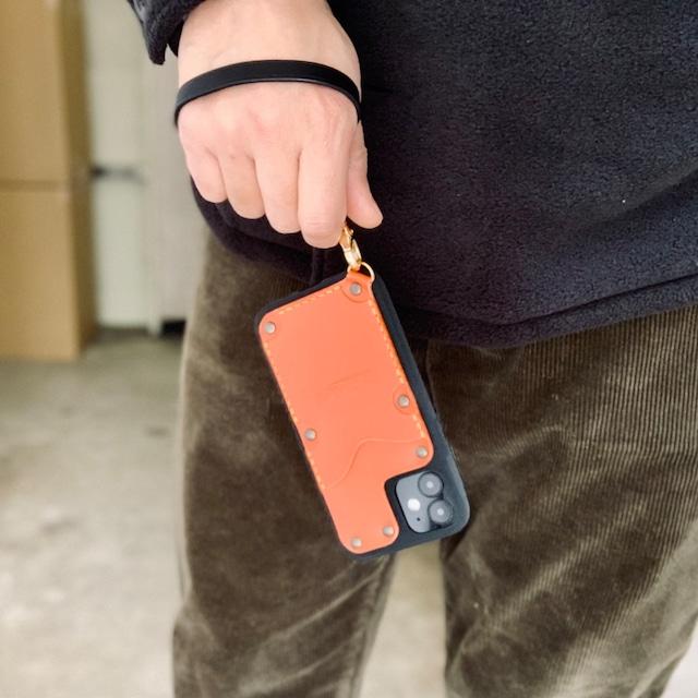 <専用ストラップ> iPhone Custom Leather Case Strap
