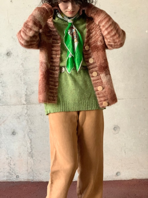 Vintage Home Made Mohair Cardigan